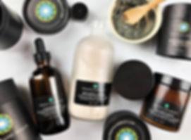 all natural organic vegan skincare + hol