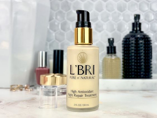 Review: L'BRI PURE n' NATURAL High Antioxidant Night Repair Treatment