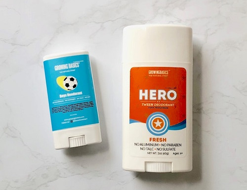An Effective Non-Toxic Deodorant for Kids and Tweens!