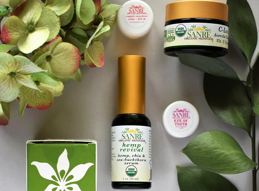 My Skincare Routine with SanRe Organic Skinfood