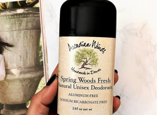 Review: Arcadian Winds Natural Deodorant
