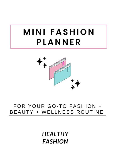 Mini Fashion Planner