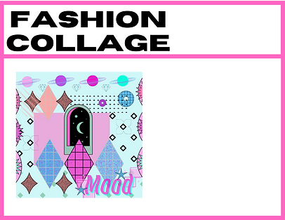 HEALTHY FASHION zine contents directory: MAGICAL FASHION COLLAGE