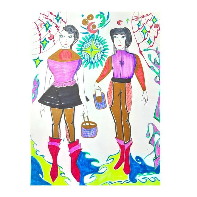 Galactic Fashion Girls