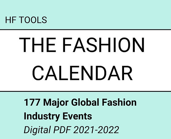 177 Major Global Fashion Industry Events