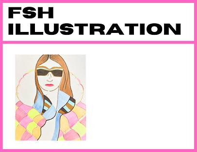 HEALTHY FASHION zine contents directory: FASHION ILLUSTRATION