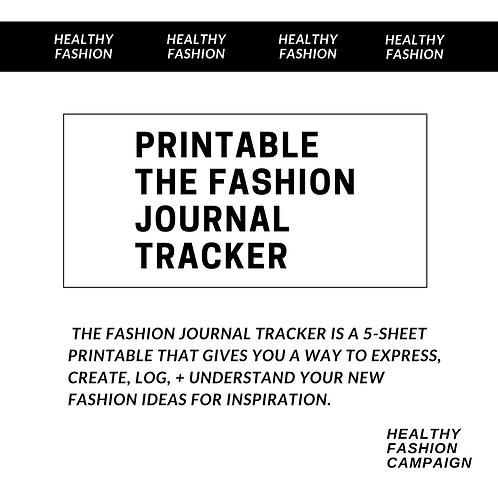 Fashion Printable: The Fashion Journal Tracker