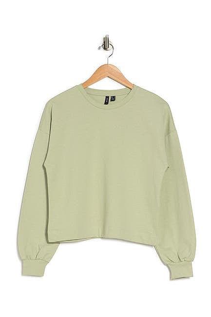Vero Moda Camen Dolman Crop Sweatshirt in Nordstrom Rack