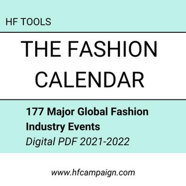 The Fashion Calendar: 177 Major Global Fashion Events