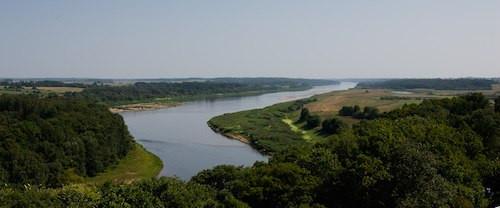 Dauguvos upė prie Polocko. M. Ambrazo nuotrauka