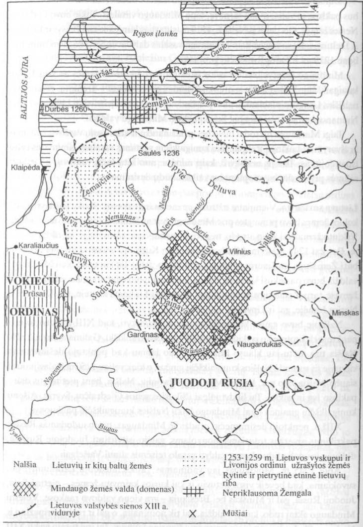 """""""Lietuva"""" tarp Vilniaus ir Kauno."""