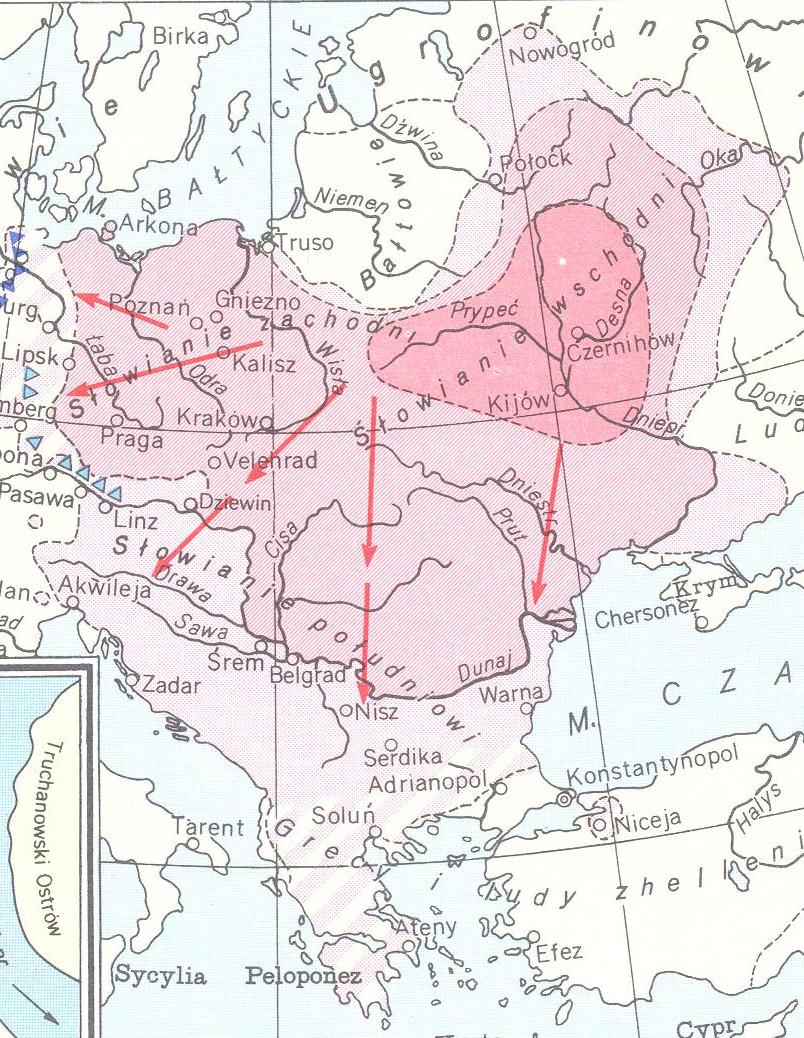Slavų ekspansija Europoje
