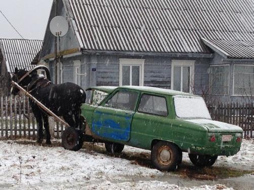 Vakarų Baltarusijoje, netoli Lužkų. R. Kamuntavičiaus nuotrauka
