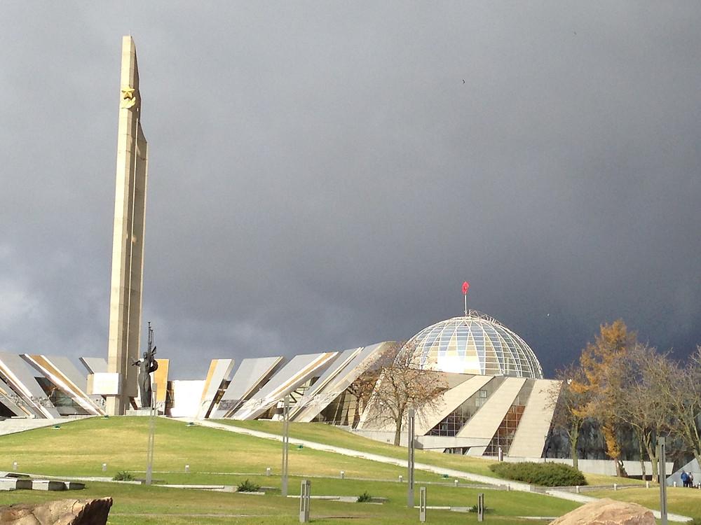 Didžiojo Tėvynės Karo muziejus Minske. Rūsčio Kamuntavičiaus nuotrauka