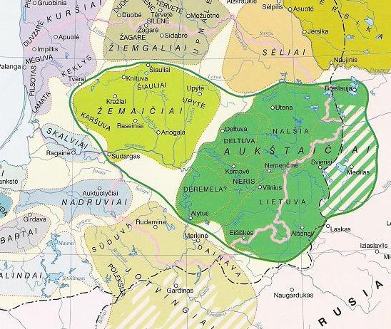 Baltų gentys XIII a. pradžioje ir Lietuvos suvienijimas