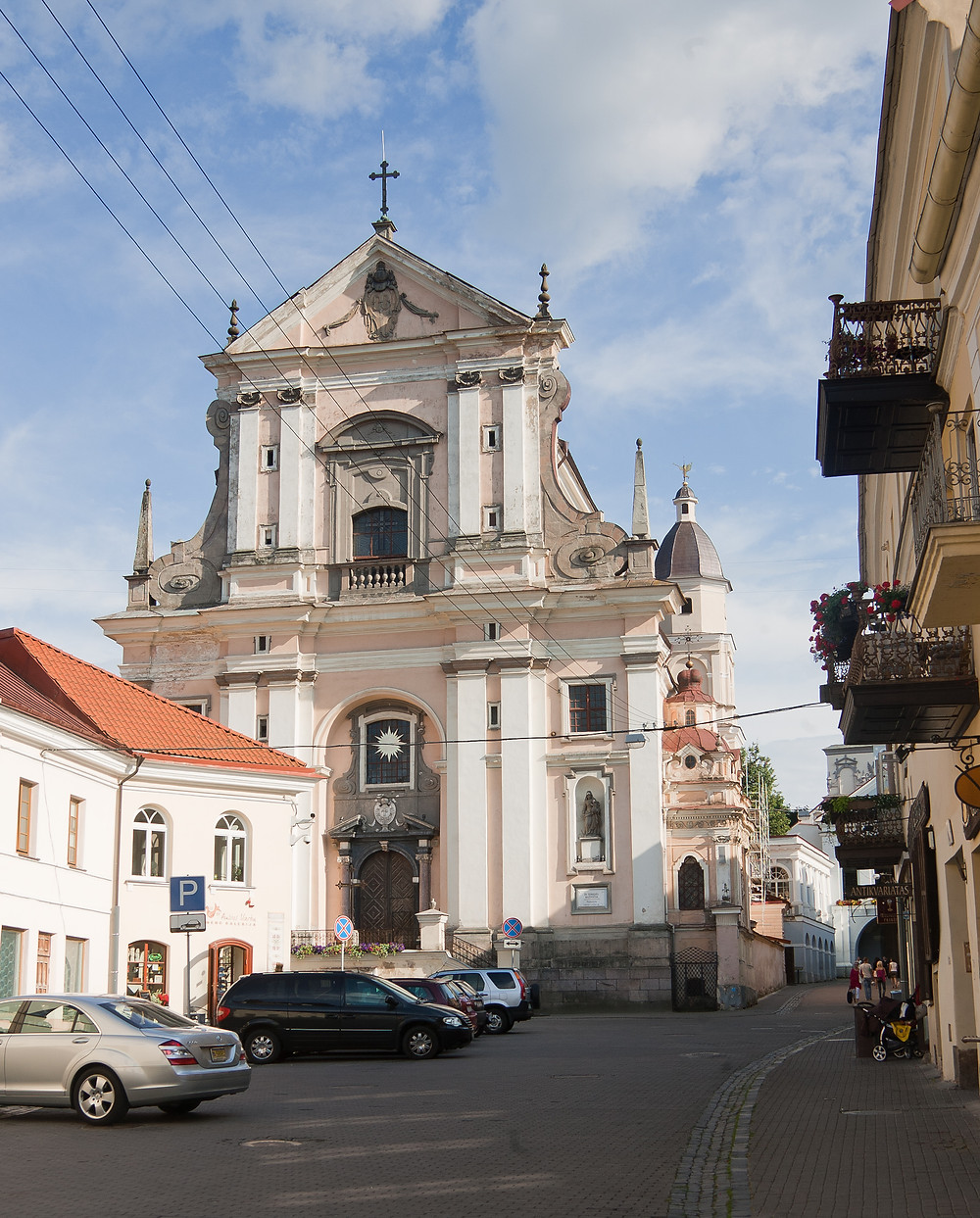 Vilnius. Šv. Teresės bažnyčia, XVII a. pirma pusė. M. Ambrazo nuotrauka