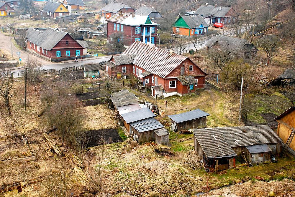 Šiandieninis vaizdas nuo Naugarduko pilies kalno. R. Kamuntavičiaus nuotrauka