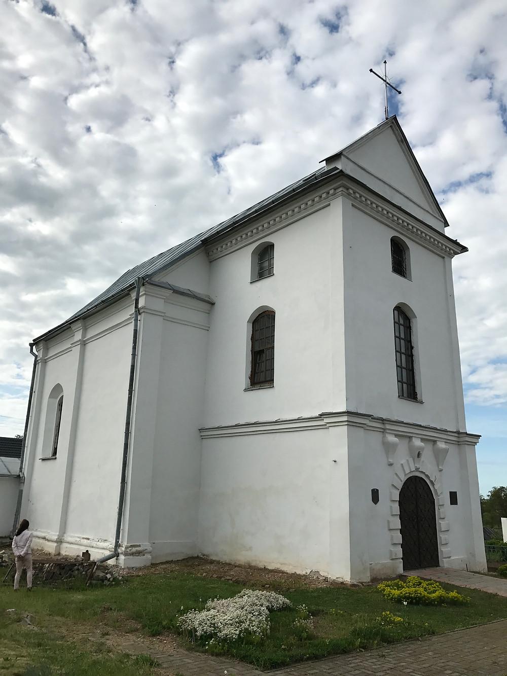 Zamostė. Buvusi evangelikų-reformatų bažnyčia. XVI a.