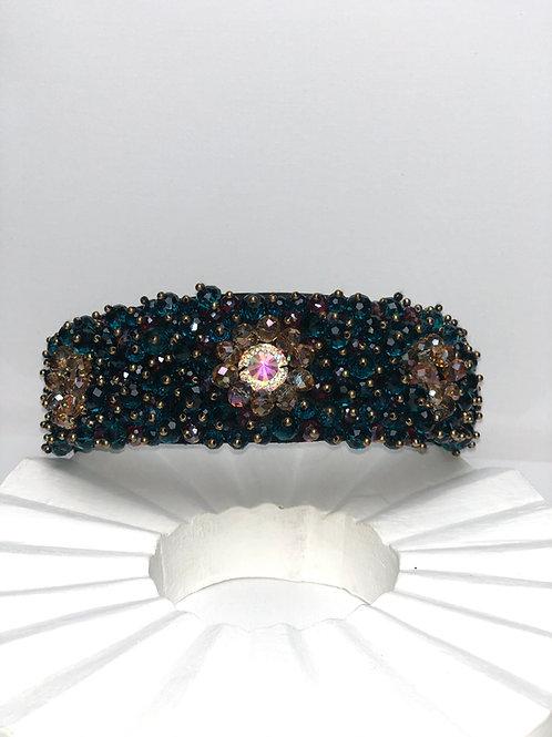 Turquoise Bling Headband