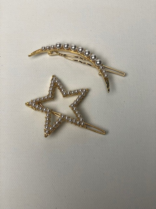 Star Studded Hairpin