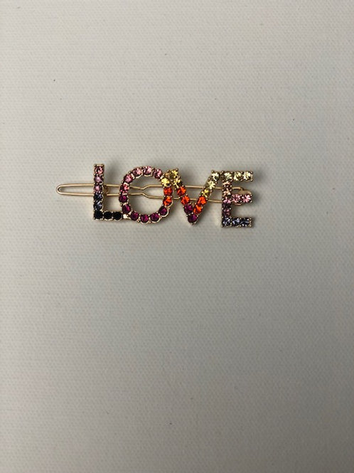 Love Color Bling Hairpin