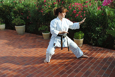 Katia MORAND 5e dan Karaté Shotokan