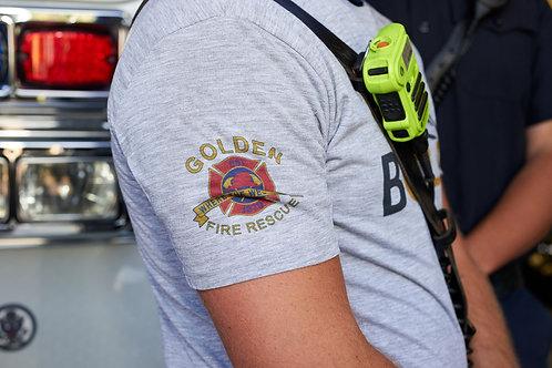 Golden Fire Department BgoldN Tee