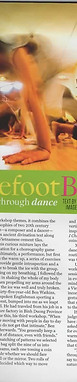OI MAGAZINE - THE BAREFOOT BOOGIE