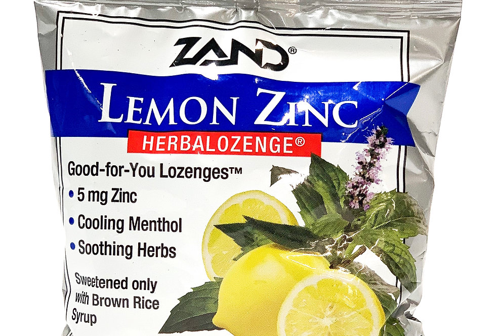 Zinc Lozenges (Lemon)