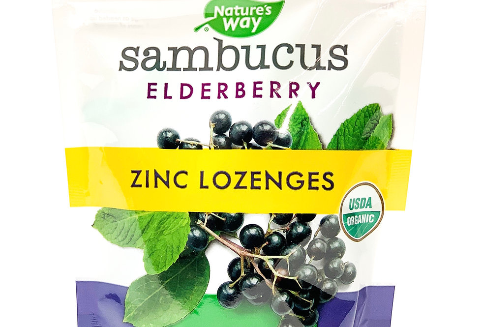 Sambucus Zinc Lozenges