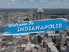 Welcome To Indianapolis Button