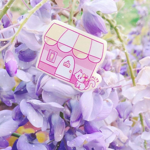 Cherry Tree Tea Cafe Pin
