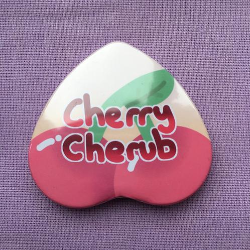 Cherry Cherub Badge