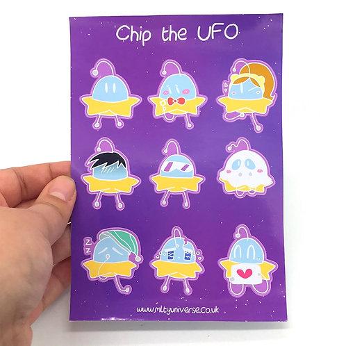 Chip Diamond Sticker Sheet