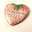 Thumbnail: Strawberry Child Heart Shaped Badge