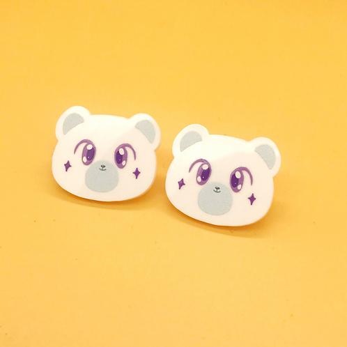 Speckubear Stud Earrings