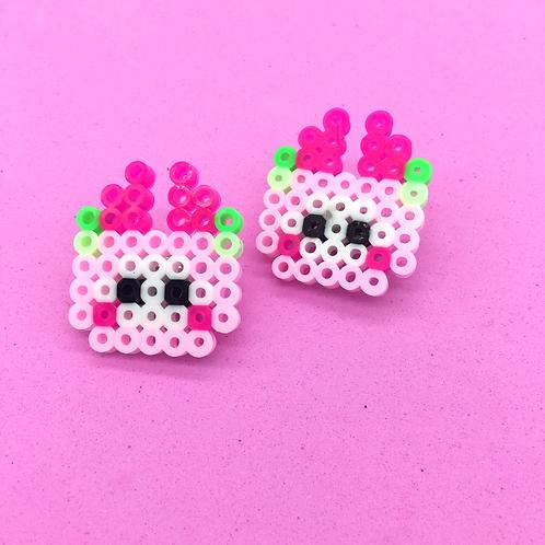 Watermelonbonny Pixel Bead Pin