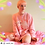 Thumbnail: Peach Panda Pink Sweater