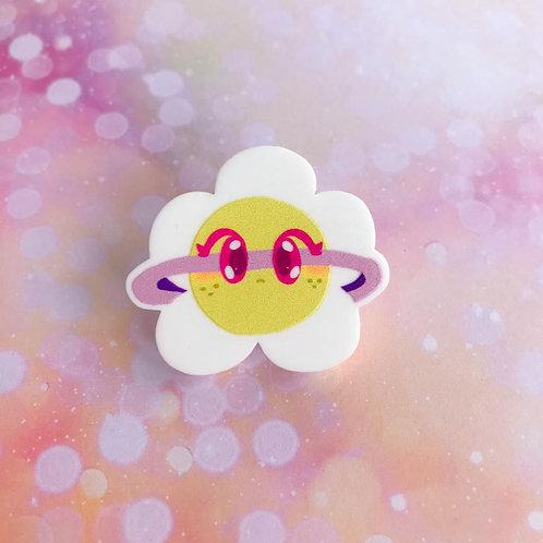 Daisy Acrylic Pin