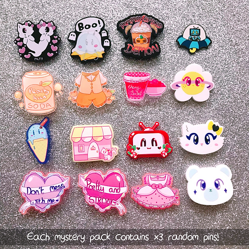 Mystery Pin Goodie Bag: 3 for £10