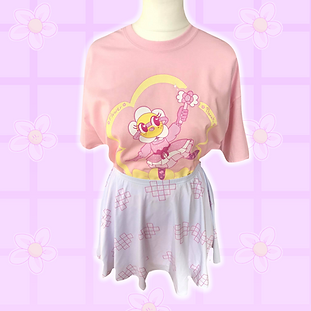 Magical Daisy Pastel Pink Tee