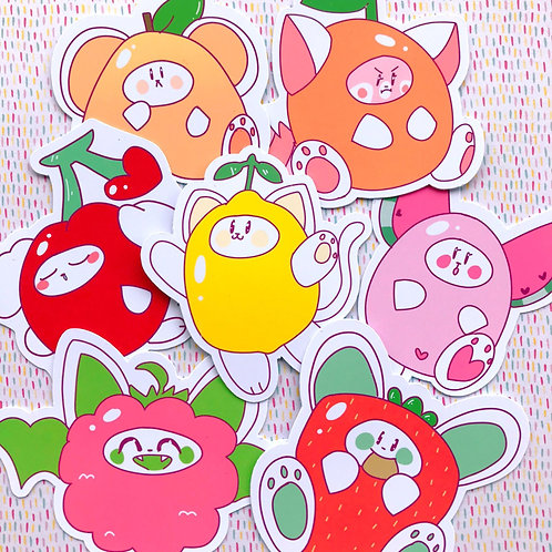 Fruity Friends Stickers