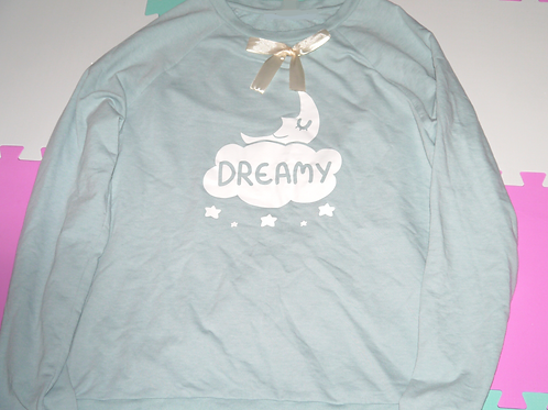 Dreamy Sweater Light Powder Blue UK Size L