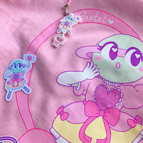 Magical Ringlet Tee + Keyring + Sticker Bundle!