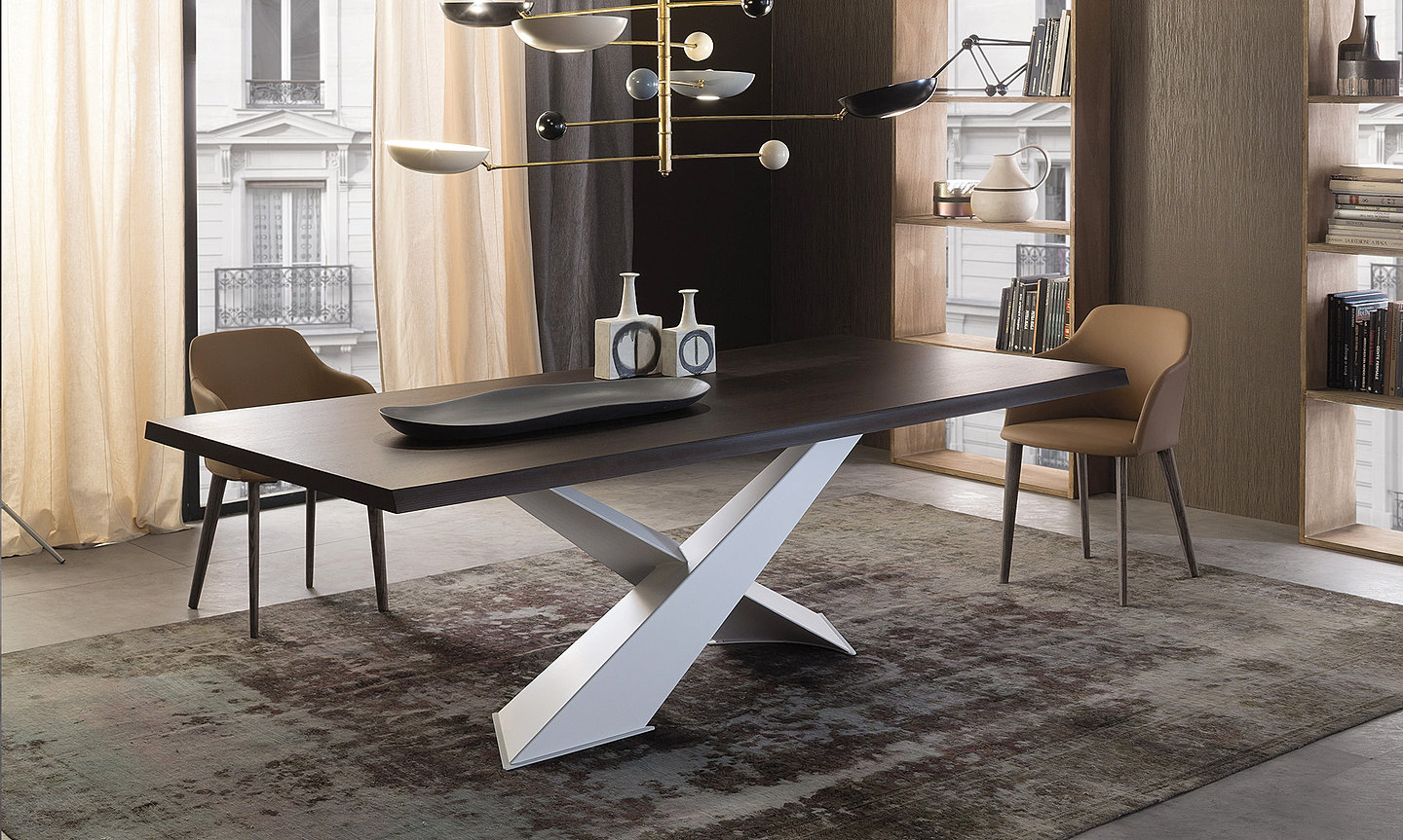 OH LA LA Modern Italian dining tables contemporary table
