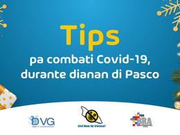 Tips pa combati Covid-19, durante dianan di Pasco