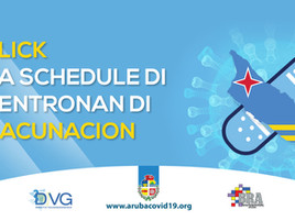 Schedule di Vacunacion, entrante Maart 2021