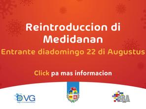 Reintroduccion di Medidanan