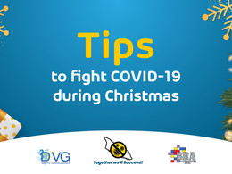 Tips to fight COVID-19 during Christmas