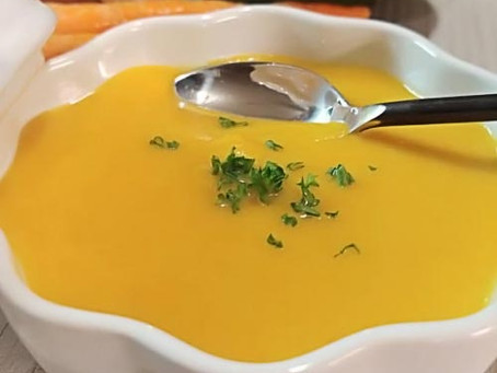 Sopi di Curry Cauliflower y Lentel